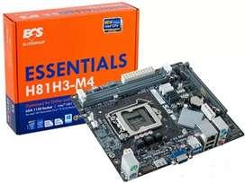 Motherboard Ecs H81h3-M4 Socket 1150 Ddr3