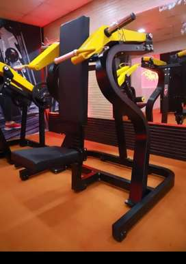 fully commercial gym setup branded machines