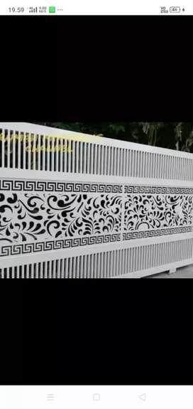 Mengeejakan pagar,  balkon,  raling,  kanopy,  dll