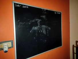 Blackboard 4*3 feet 10 days used brand new