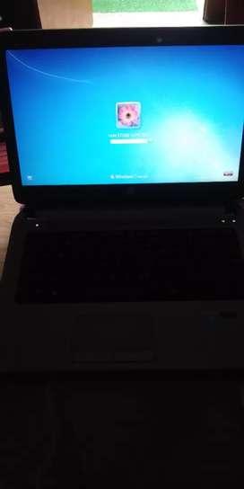 HP Lapto windows 7 500 GB hard disk i3 prosar good condition  Black