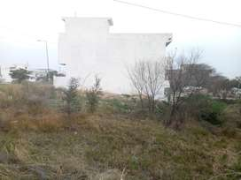 200 sq yards Double Road Proper Corner Plot available in G-15 ISB