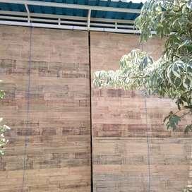 Seje dewe tirai bambu