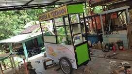 gerobak pempek Palembang