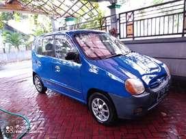 Dijual segera mobil Hyundai Atoz th2002 Biru