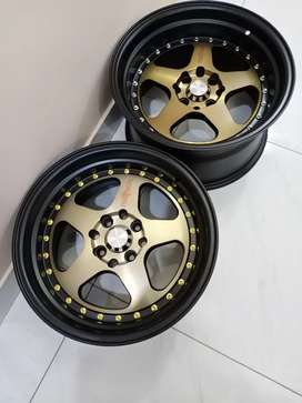 """Brand New 16"""" Roti form staggered alloy wheels Rims"""