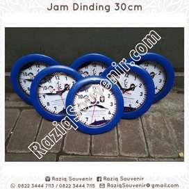 Souvenir Jam Dinding Ulang Tahun Acara Foto Promosi Custom Murah