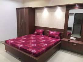 Furnished 3 bhk flat near  model town on rent