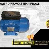 """IKAME"" DINAMO 3 HP, 1 PHASE, Untuk Hidrolik Cuci Mobil Motor"