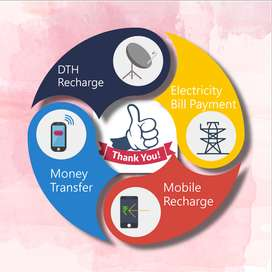 Start Mobile Recharge and money tranfer Business and Earn