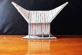 Rumah Gadang Lintingan Koran