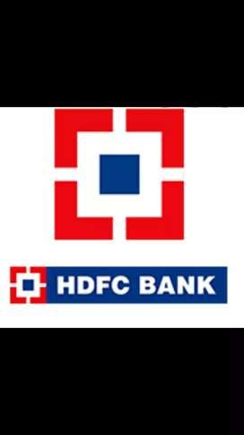 HDFC BANK JOB VACANCY.ALL INDIA
