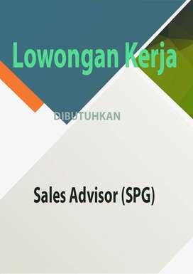 Dibutuhkan segera Sales Advisor (SPG)