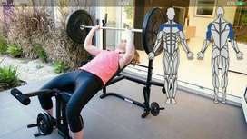 alat fitnes bench press