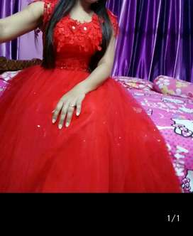 Beautiful New Red Gown