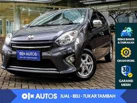 [OLXAutos] Toyota Agya 1.0 G Bensin A/T  2015 Abu-Abu