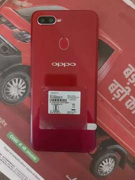 Oppo F9 pro, with charger, headphone, Bill and original Box.