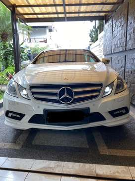 Mercedes benz E350 coupe 2010 AMG package  mulus pajk pnjg BU murah