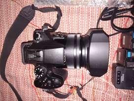 I want to sell my brand new camera FZ2500 Lumix panasonic complete set