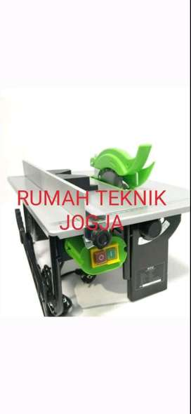 (RUMAH TEKNIK JOGJA) table saw 8 inch by tekiro japan