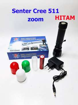 Senter Cree 511 Tactical series with zoom 80.000w / 220.000 lumens ID3