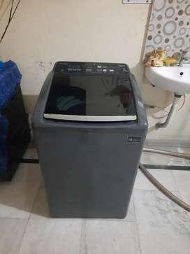Washing machine whirlpool fully automatic 6.5 kg
