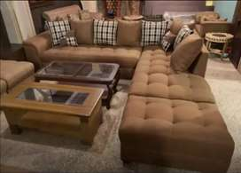 Most comfortable style L shape sofa set only 26999