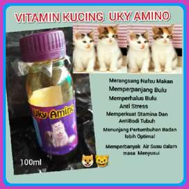 New Multivitamin Kucing UKY AMINO 100ml