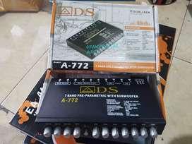 preamp parametric equalizer 7band high quality a/d/s a772