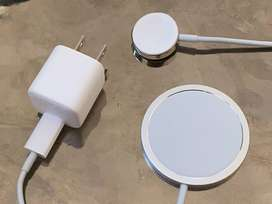 MagSafe Charger for Apple Iphone 12 , 11 , X , 8 Delivery also availab