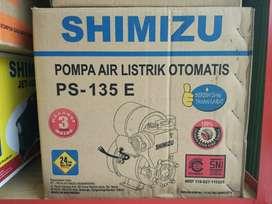 diantar pompa air listrik otomatis shimizu ps135 e sumurdangkal