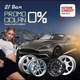 Ready Velg Terbaru Promonya Bisa Cicilan 0%