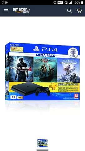 Sony PS4 1 TB Slim Console (Urgent Sale)