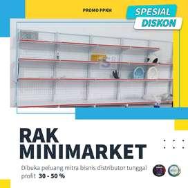 Rak gondola minimarket /rak toko