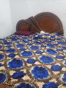 Double bed(wood)