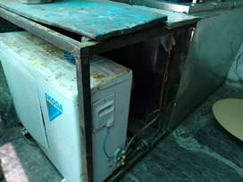 Ice candy and chocobar making machine 500 ltr... And storage 150 ltr..