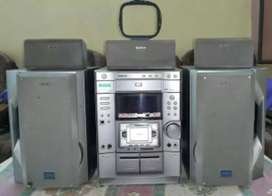 SONY MHCP 1000D RADIO/CASSETE/CD MUSIC SYSTEM