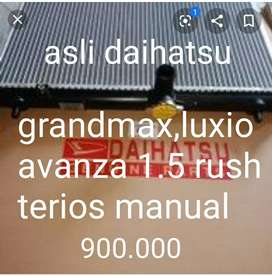 Radiator manual rush,terios,avanza 1.5,grandmax luxio asli daihatsu