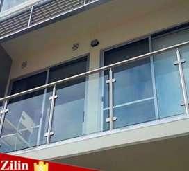 Reling Balkon kaca Dll 00577