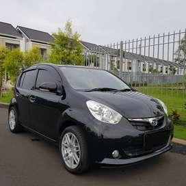 Daihatsu Sirion D AT 2013 hitam, pajak april 2021