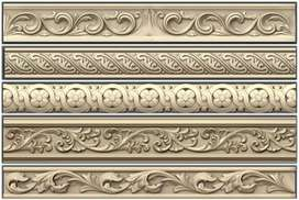 Computerized  wood carving designe