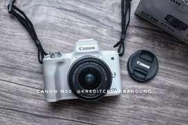 Kredit Kamera mirroles Canon M50 Dp cuma 1.100k