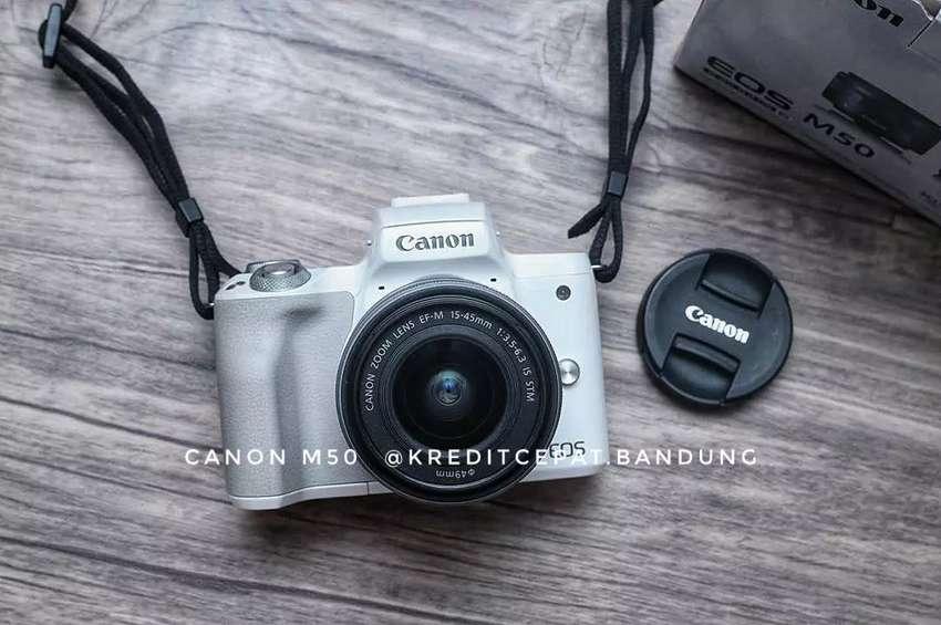 Kredit Kamera mirroles Canon M50 Dp cuma 1.100k 0
