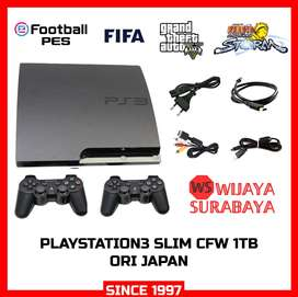 PS3 slim 2000GB/2TB with manual book