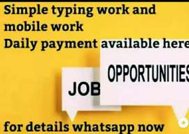 Get paid daily for simple and easy mobile work