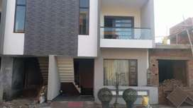 Double storey kothi for sale near 200ft Airport Road in sunny enclave.