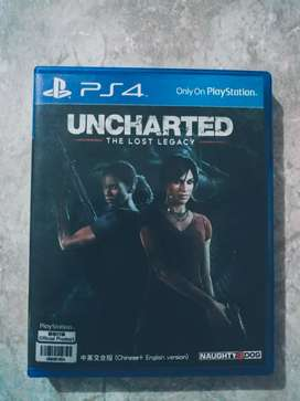 PS4 Bluray (Uncharted : The Lost Legacy) : Bisa Barter dgn kaset lain.