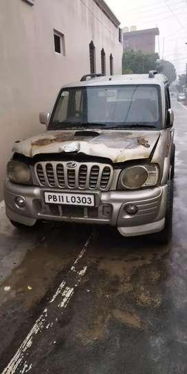 Mahindra Scorpio 2006 crde full scrap car