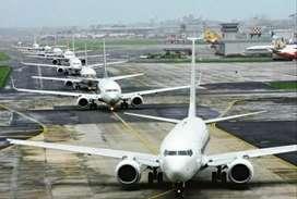 Hiring of ground staff worker  helper on Airport