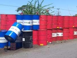 Mggo drum besi kpasitas 200 liter brang super bagus bisa dkirim